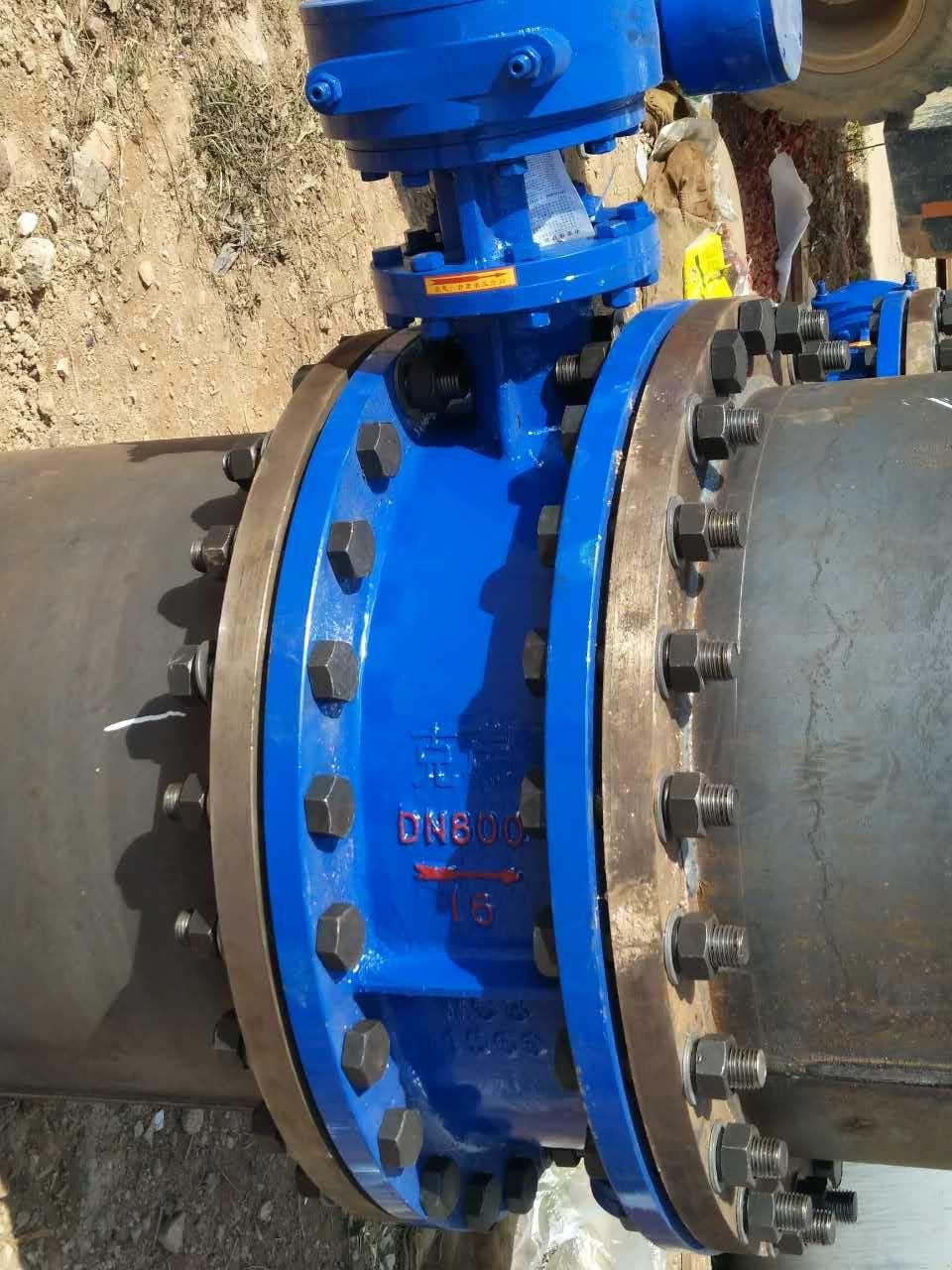 DN800双向易胜博首页法兰ysb易胜博使用在国家重点饮水工程项目现场