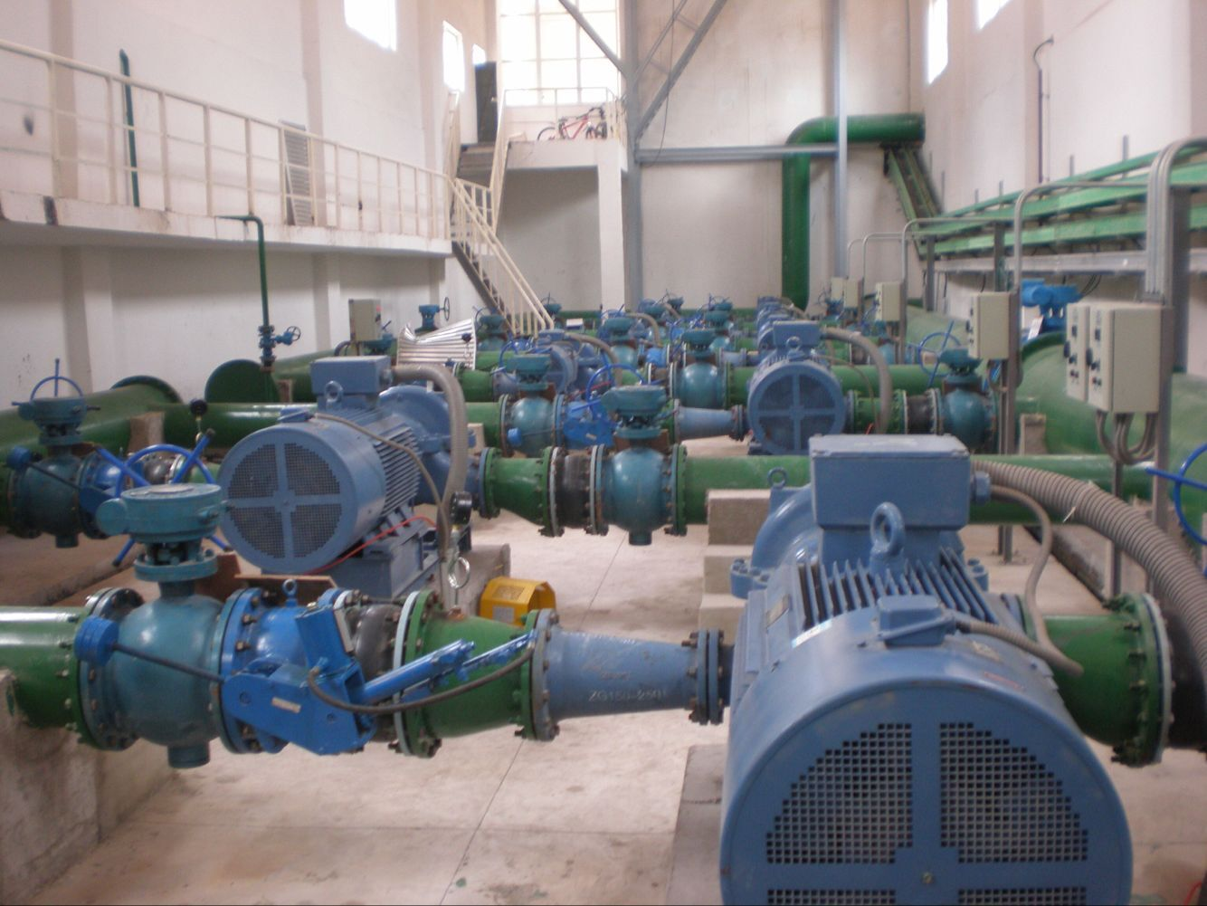 化工厂循环水系统使用现场